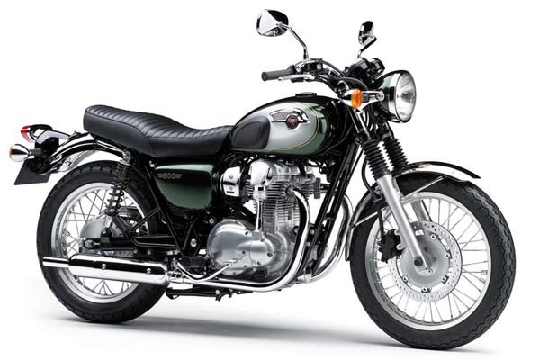 kawasaki w800 retro motorcycle. Black Bedroom Furniture Sets. Home Design Ideas
