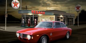 Alfa Romeo Art Work by Federico Alliney