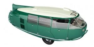 Bucky Fuller's 3 Wheeled Concept Car – The Dymaxion
