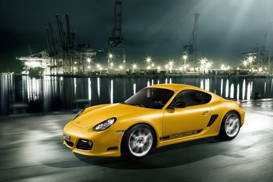 2011-Porsche-Cayman-R-Yellow