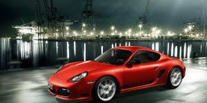Porsche's New Light-Weight Cayman R