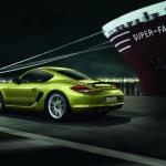 2011-Porsche-Cayman-R-Rear