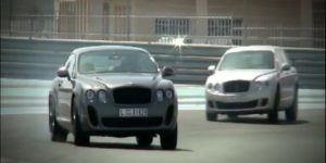 Car Video of the Day: Sliding Bentley At Yas Marina Circuit