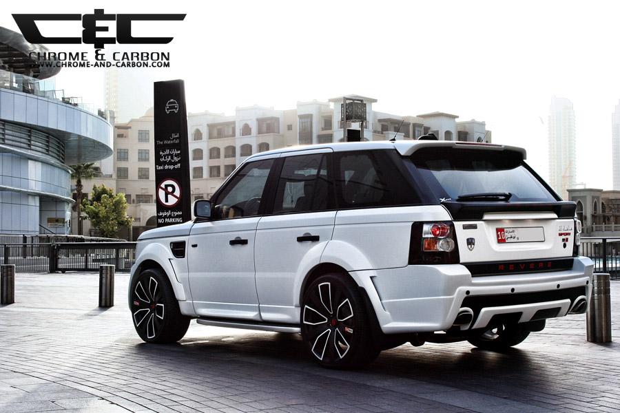 Pimpin Ain T Easy Chrome And Carbon Custom Range Rover