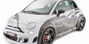 Pocket Rocket: Hamann And H&R Springs Tuned Fiat 500