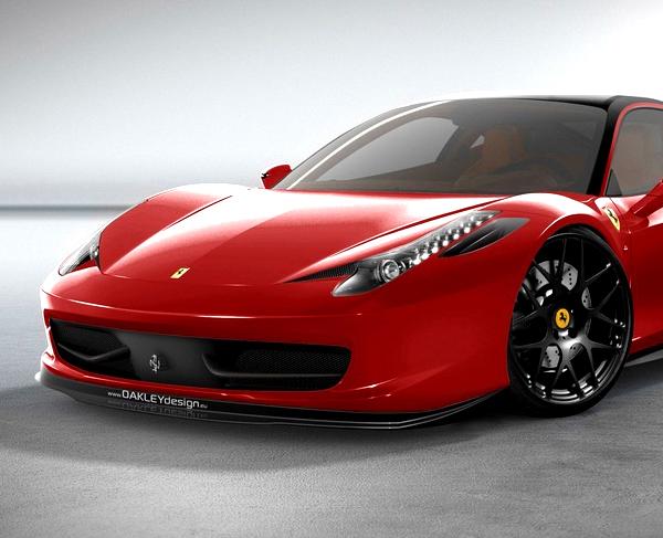 Limited Edition Ferrari 458 Italia By Oakley Design