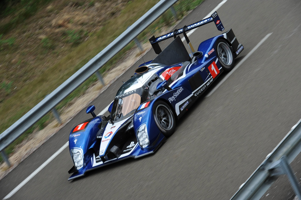 The Most Beautiful Racing Car In The World Peugeot