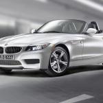 2011-BMW-Z4-Silver-Top-Down