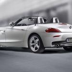 2011-BMW-Z4-Silver-Rear