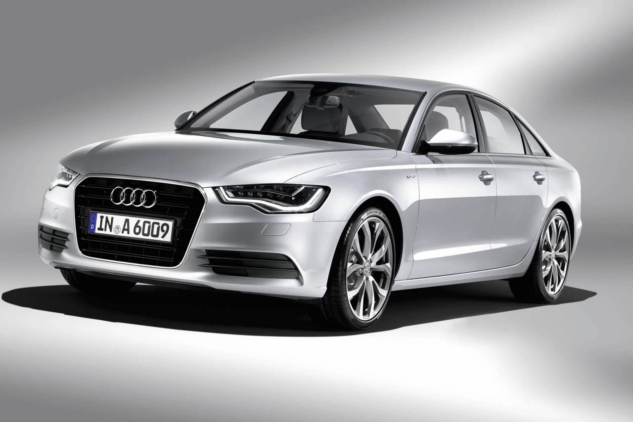 the not so new all new 2012 audi a6 sedan. Black Bedroom Furniture Sets. Home Design Ideas
