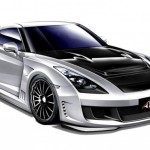 Axell-Auto-Nissan-GTR-Drawing-Front