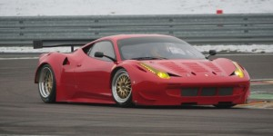 Mean Looking Ferrari 458 GT2 Race Car