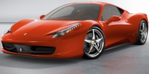 The Beautiful Ferrari 458 Italia Super Car