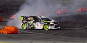 Video: Tanner Foust vs Ken Block at Gymkhana Grid