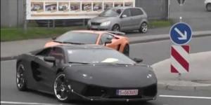 Spy Video: Lamborghini Aventador LP700-4