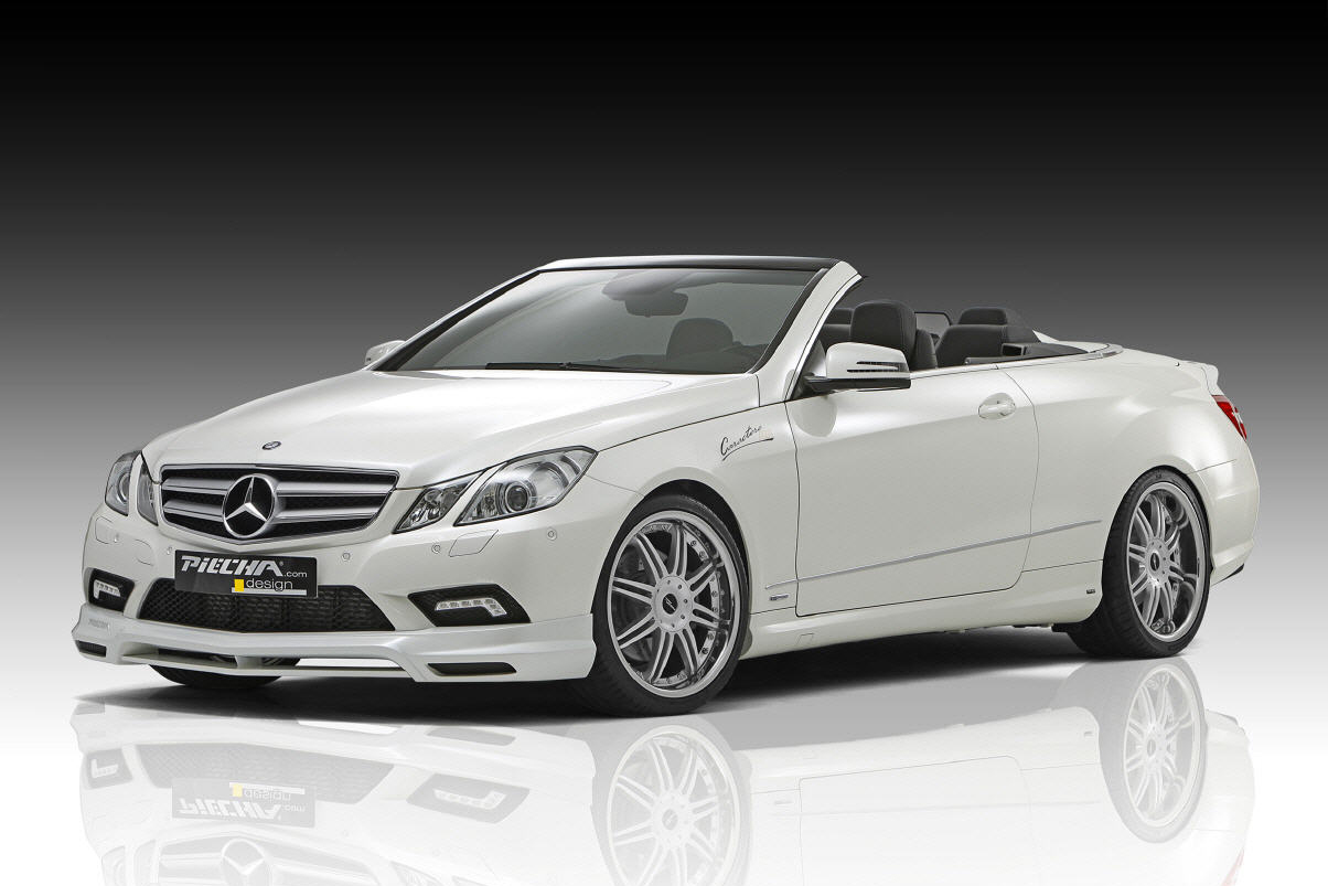 piecha design mercedes e class convertible. Black Bedroom Furniture Sets. Home Design Ideas