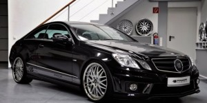 Black Desire – Prior Design Tuned Mercedes E-Class Coupe
