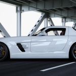 White-Wheelsandmore-Mercedes-SLS-AMG-Side