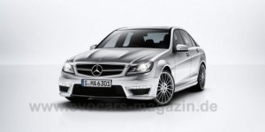 Leaked Photos – 2012 Mercedes C63 AMG