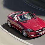 2012-Mercedes-SLK-Red-Driving