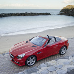 2012-Mercedes-SLK-Beach