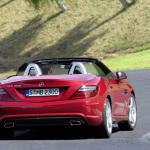 2012-Mercedes-SLK-Rear-Red