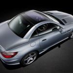 2012-Mercedes-SLK-Rear-Three-Quarters