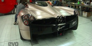 First Video Of Pagani Huayra – Oh The Sound Of The V12