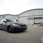 BMW-5-Series-E60-Front-Three-Quarters