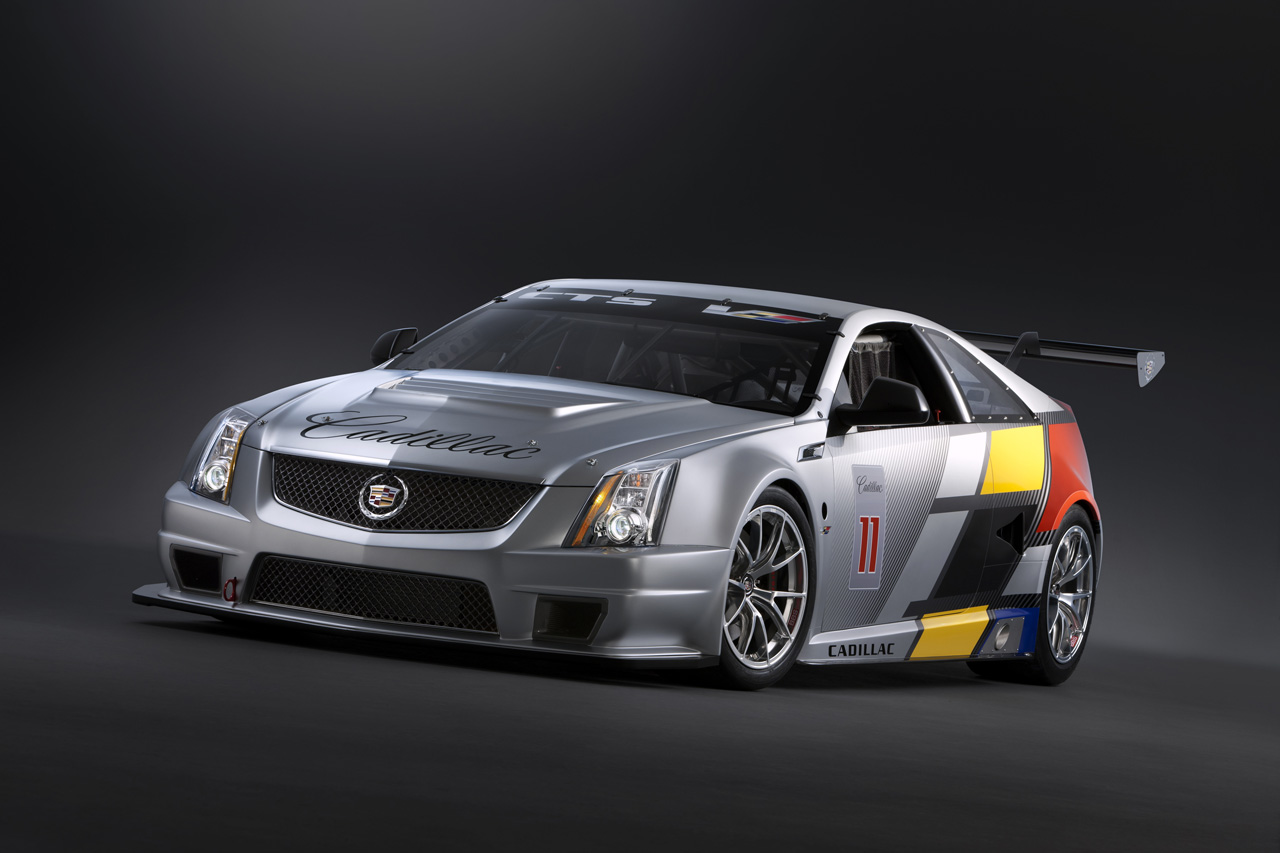 cadillac cts v coupe scca race car. Black Bedroom Furniture Sets. Home Design Ideas