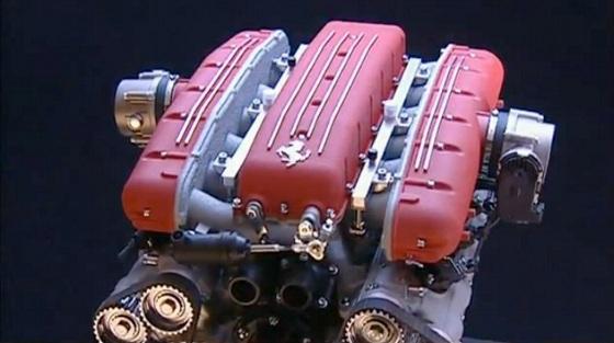 Ferrari-V12-Engine