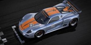 Porsche Hybrid Sports Car: The 918 RSR