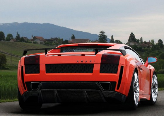 Amari-Design-Lamborghini-Gallardo-Invidia-Rear