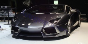 First Live Pictures of Lamborghini Aventador From Geneva
