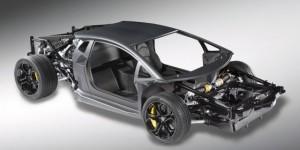 Lamborghini Aventador LP700-4 Rolling Chassis Revealed