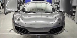 Official Production Start Of McLaren MP4-12C