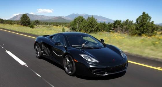 Black-McLaren-MP4-12C-Front