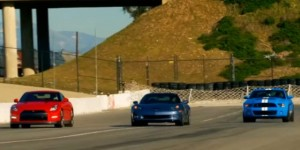 Motor Trend Pits GT-R vs Corvette Z06 vs Shelby GT500