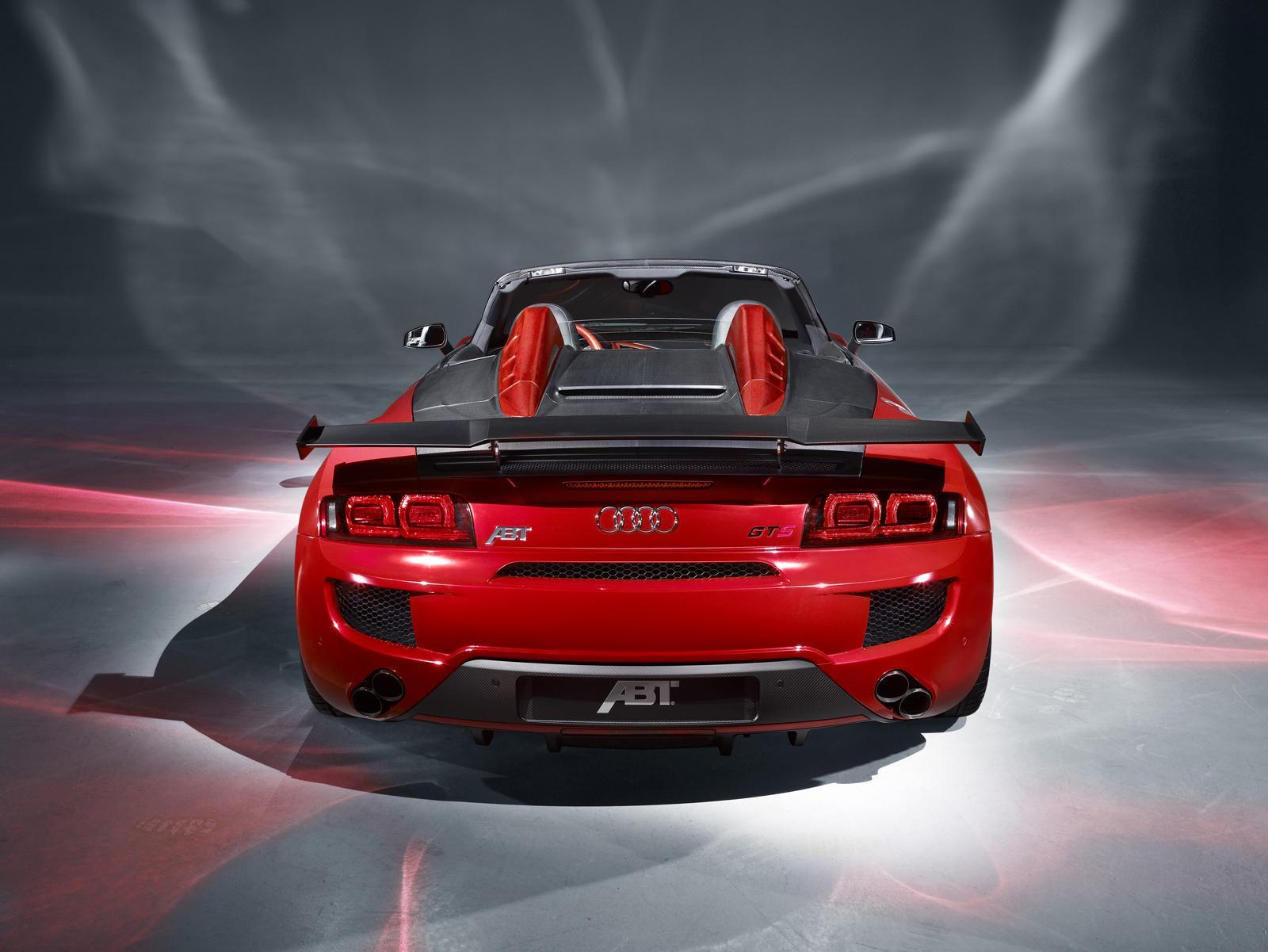Abt Sportsline Audi R8 Gt Spyder