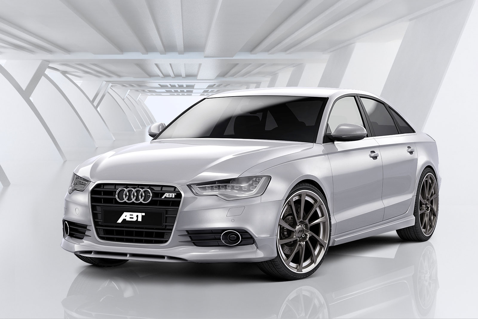 2012 audi a6 tuned by abt sportsline. Black Bedroom Furniture Sets. Home Design Ideas