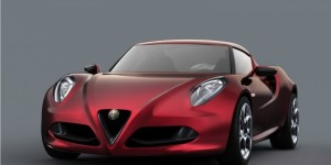 Alfa Romeo 4C Coupe Concept Unveiled At Geneva