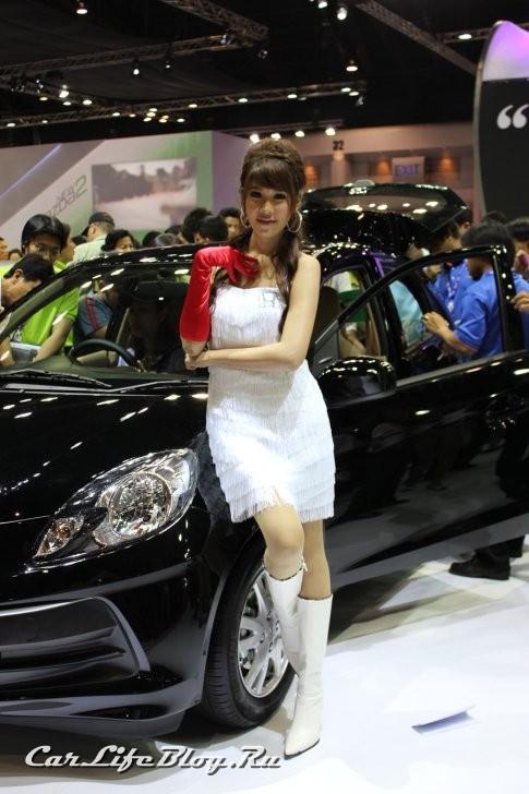The Girls Of Bangkok Motor Show