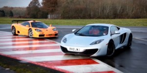 Video: McLaren MP4-12C vs. McLaren F1 GTR