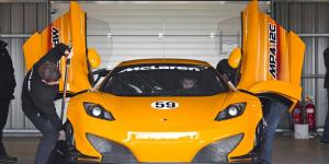 McLaren Unveil The MP4-12C GT3 Race Car
