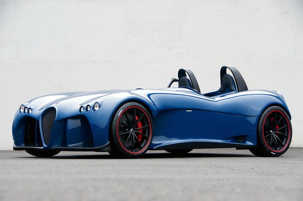 Go Kart On Steroids Wiesmann Spyder Concept