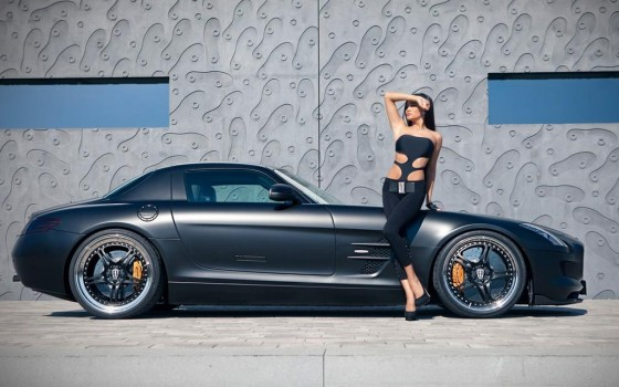 Hot Girl And Kicherer Sls 63 Supersport Gt