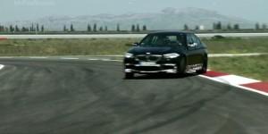 BMW M5 F10 Track Testing Video
