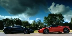 Video: Fifth Gear McLaren MP4-12C vs Ferrari 458 Italia