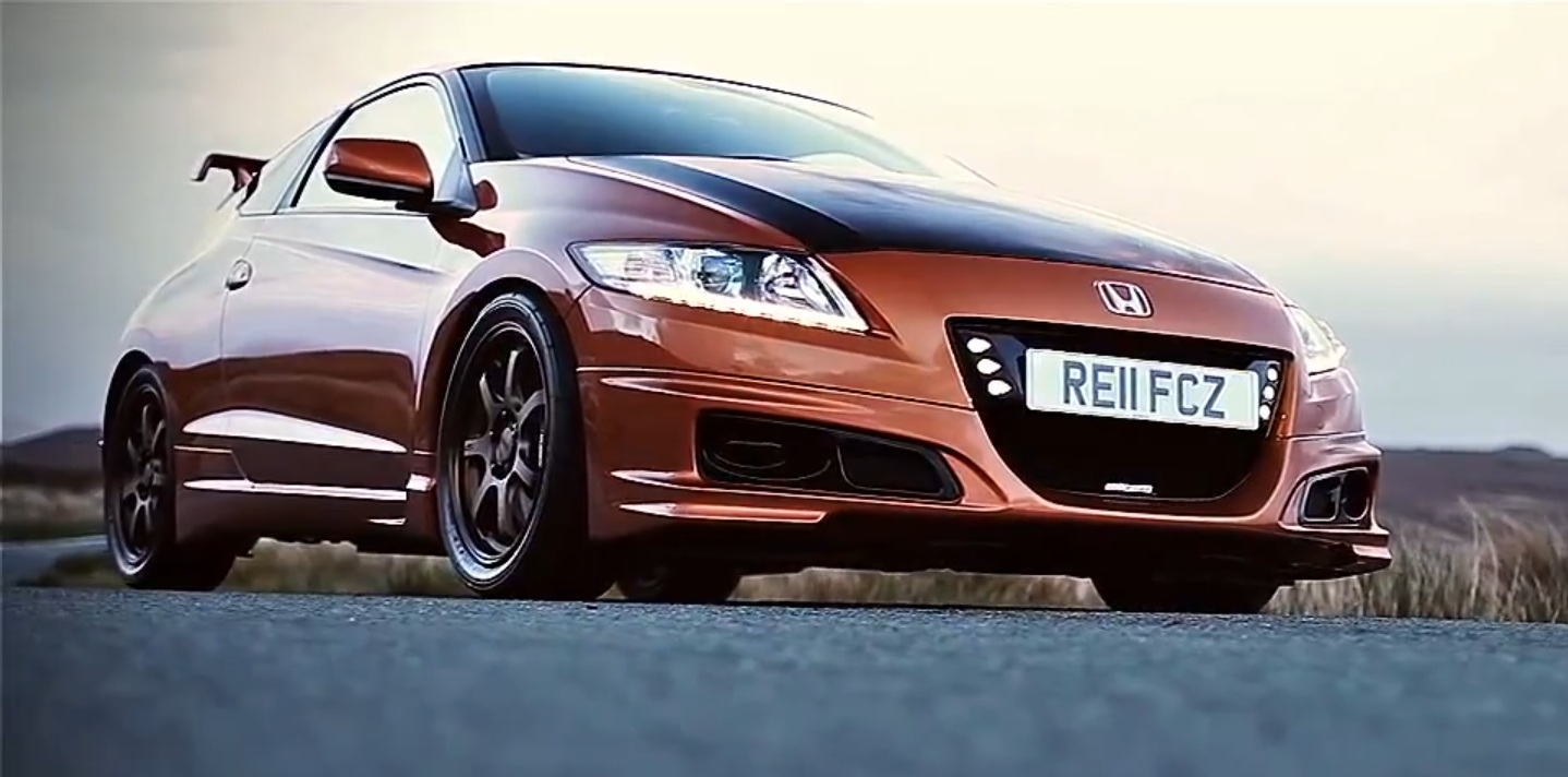 video tuned honda cr z mugen. Black Bedroom Furniture Sets. Home Design Ideas