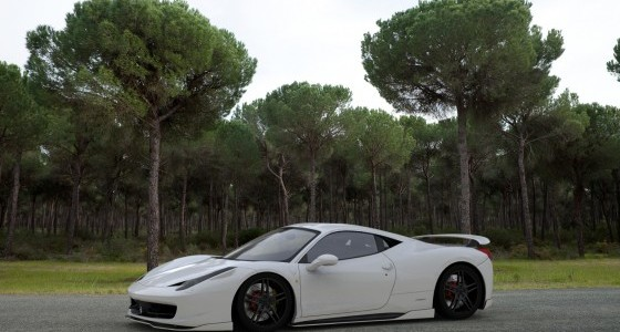 Fairy-Design-Ferrari-458-Italia-Kit-White